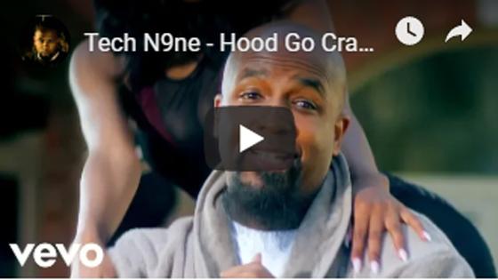 Tech N9ne - Hood Go Crazy