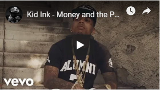 Kid Ink - Money and the Power